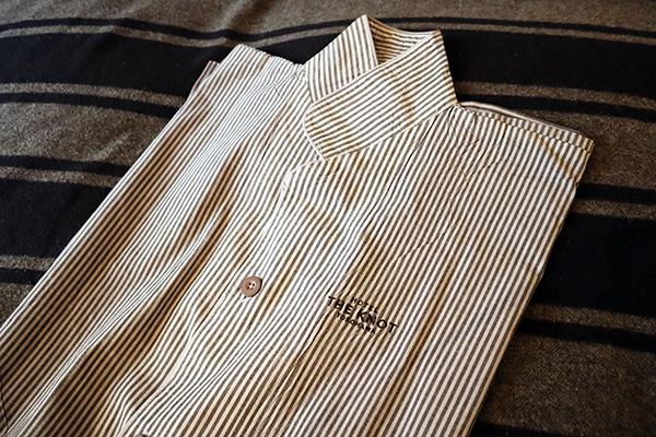ストライプのパジャマ