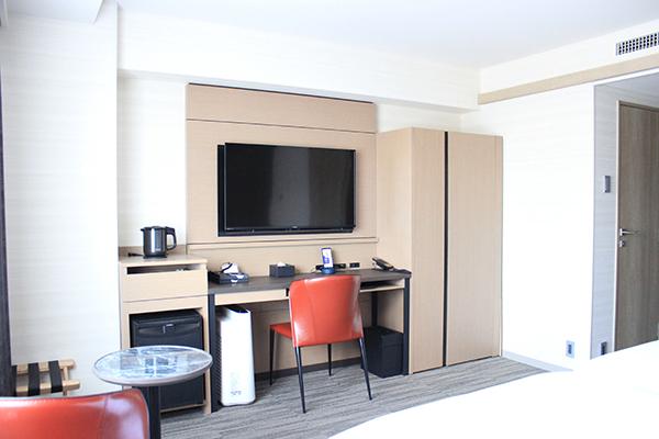 広くて快適な客室