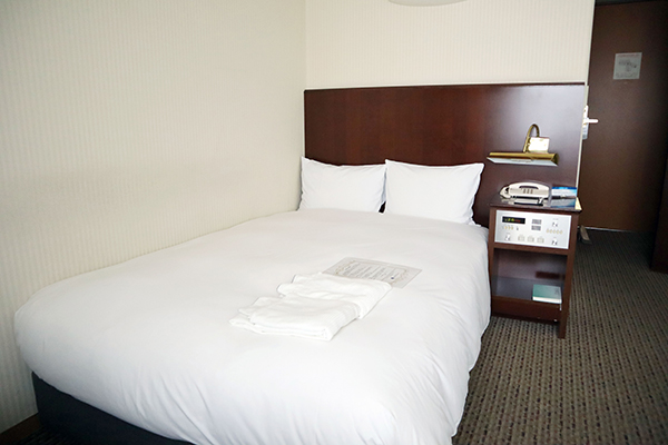 清潔感のあるベッド