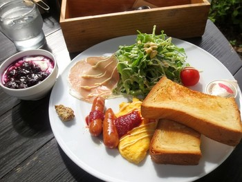 「Cafe La Ruche」料理 621071 モーニングプレートセット