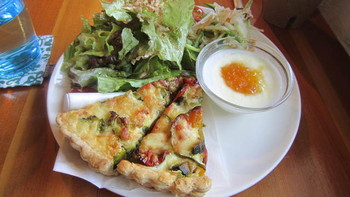 「WILL cafe」 料理 14083989 キッシュプレート