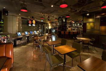 「WIRED CAFE Dining Lounge Wing 高輪店」 内観 23827553 開放的でオシャレな内装!!