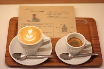 「coffee beans ROCOCO」 料理 47442483 エスプレッソで飲み比べセット