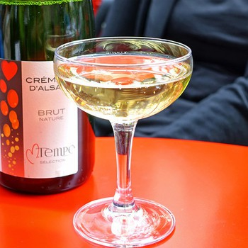 「Buvette」 ドリンク 83586064 Cremant D'Alsace Brut Nature Tempe Selection