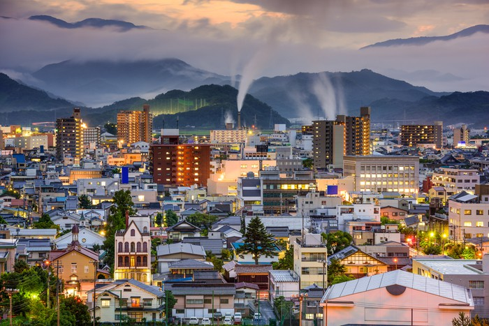 Tottori, Japan Skyline